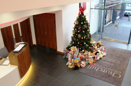 Over 320 toys make a difference to disadvantaged children this Christmas