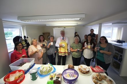 Millstream Management Services helps raise over £30,000 for Macmillan World's Biggest Coffee Morning