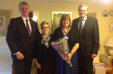 "Lodge Manager celebrates 10 years of service with her ""second family"""