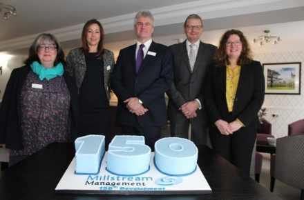 Millstream Management Services celebrates 150th development milestone