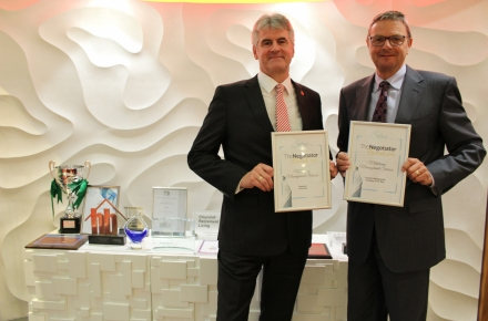 Negotiator Awards success for Millstream Management Services