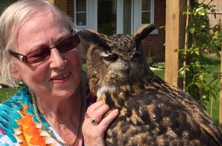 Life's a hoot at Greenacres Lodge